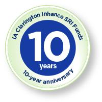 IA Clarington Inhance SRI Funds Ten Year Anniversary