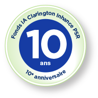 Fonds IA Clarington Inhance PSR  - dixième anniversaire