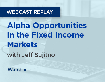 Portfolio manager Jeff Sujitno discusses alpha opportunities in fixed income and provides an update on his core plus and floating rate income mandates.