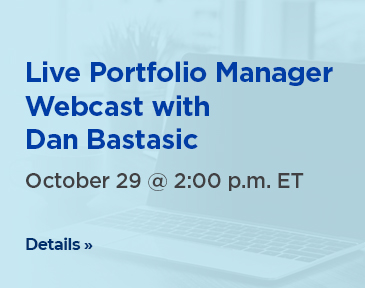 Portfolio manager Dan Bastasic provides an update on the IA Clarington Strategic Funds and discusses his outlook for the equity and fixed-income markets.