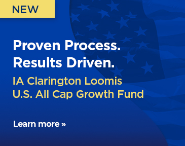 Proven process. Results driven. IA Clarington Loomis U.S. All Cap Growth Fund
